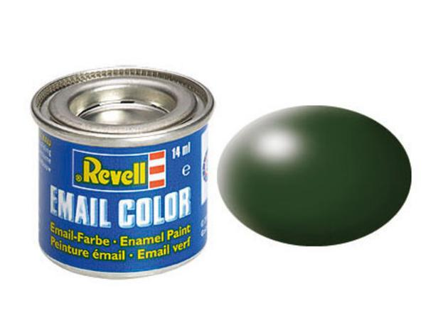 Dark green, silk RAL 6020