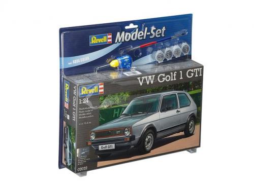 VW Golf 1 GTI 1/24 Model Set