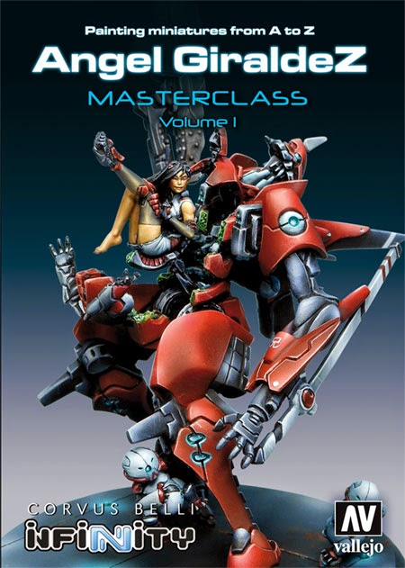 Painting Miniatures from A to Z, Angel Giraldez Masterclass Volume 1