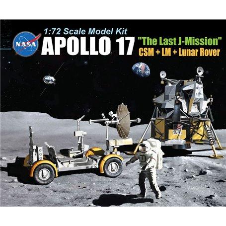 Apollo 17 The Last J-Mission Csm + LM + Lunar Rover 1/72