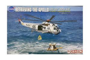 """""""Retrieving The Apollo"""" SH-3D """"Helo 66"""" + Apollo Command Module 1/72"""