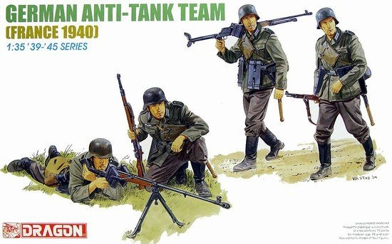 German Anti-Tank Team (France 1940) 1/35