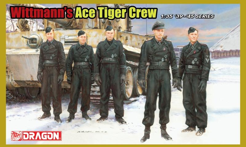 Wittmann's Ace Tiger Crew (5 Figure Set) 1/35