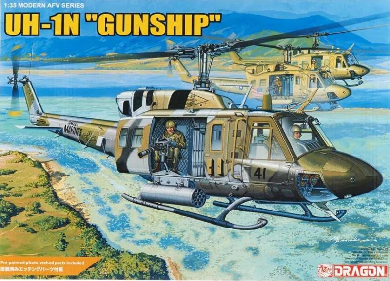 """UH-1N """"Gunship"""" 1/35"""