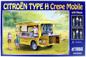 CITROEN H CREPE MOBILE TYPE WITH FIGURES 1/24