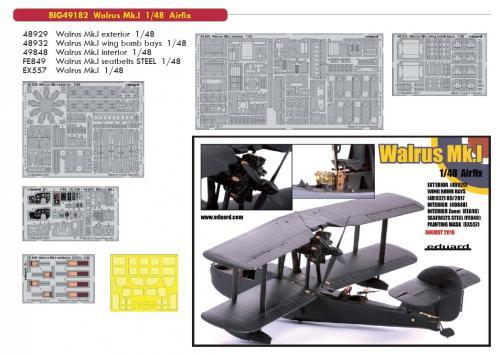 Walrus Mk.I 1/48 (Airfix) Big ED