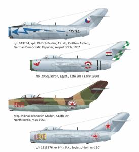 Mikoyan MiG-15bis, Super 44 Edition 1/144