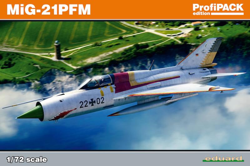 Mikoyan MiG-21PFM, Profipack 1/72