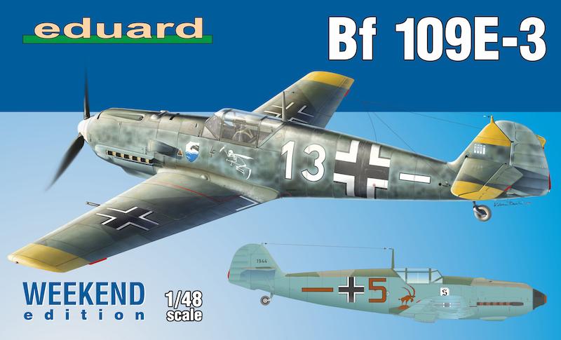 Messerschmitt Bf-109E-3 - Weekend Edition 1/48