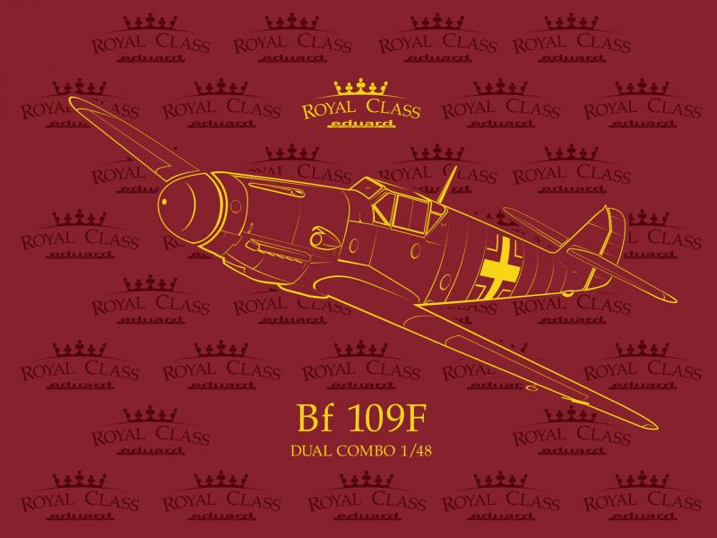 Bf 109F Dual Combo 1/48