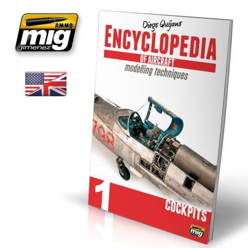 ENCYCLOPEDIA OF AIRCRAFT MODELLING TECHNIQUES VOL.1 : COCKPITS (ENGLISH)