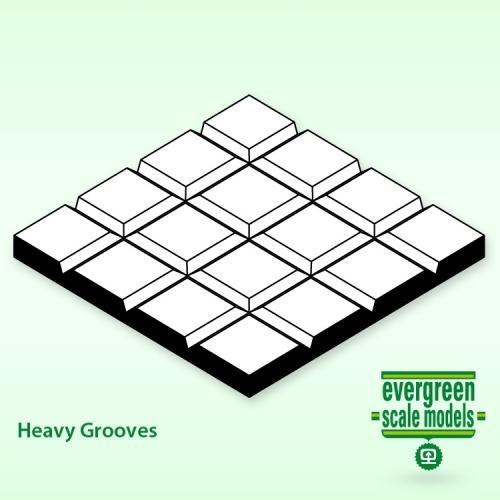 Evergreen  Plattor 1x150x300mm 1.6x1.6 mm