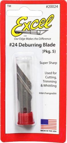 #24 Deburring Blade - 5pcs. (K2, K5 & K6)
