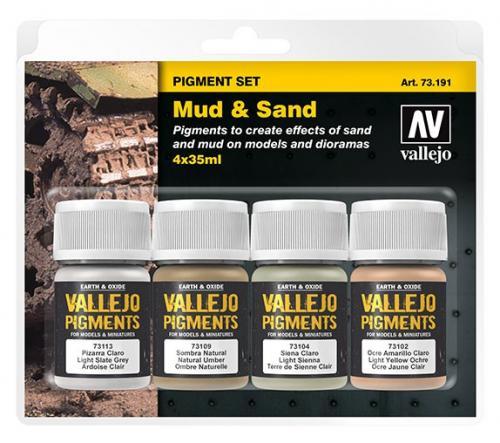 Pigment set (Mud and Sand)