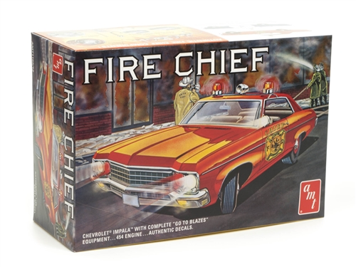 Fire Chief 1971 Chevy Impala 1/24