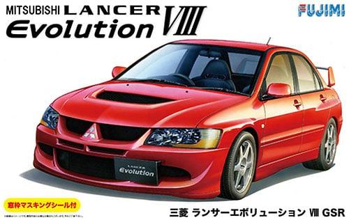 Mitsubishi Lancer Evolution VIII GSR 1/24