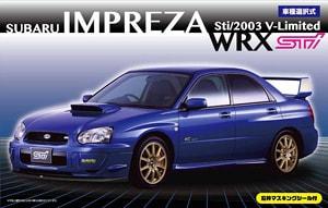 Subaru Impreza WRX Sti/2003 V-Limited 1/24