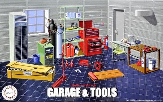 Garage & Tools 1/24