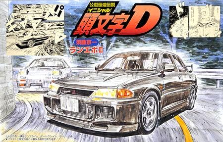 Initial D Lancer Evolution III 1/24