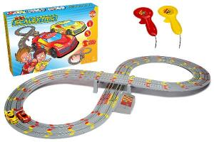 MY FIRST SCALEXTRIC SET BATTERY POWERED RACE SET