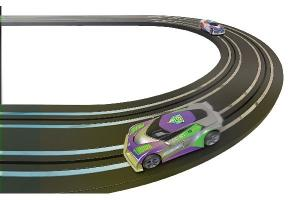 Micro Scalextric Track Extension Pack