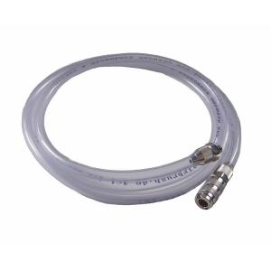 Complete hose, 1m (4x6mm) for airbrush holder in module construction connection M5a - quick coupling nd 2.7mm