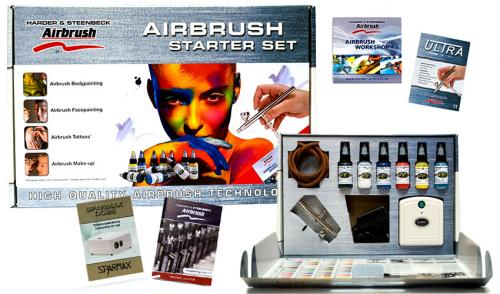 Airbrush Starter Set Harder & Steenbeck
