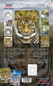 "Stencil ""Tiger Wildlife"" Set"