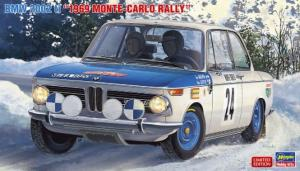BMW 2002 ti 1969 Monte Carlo Rally 1/24