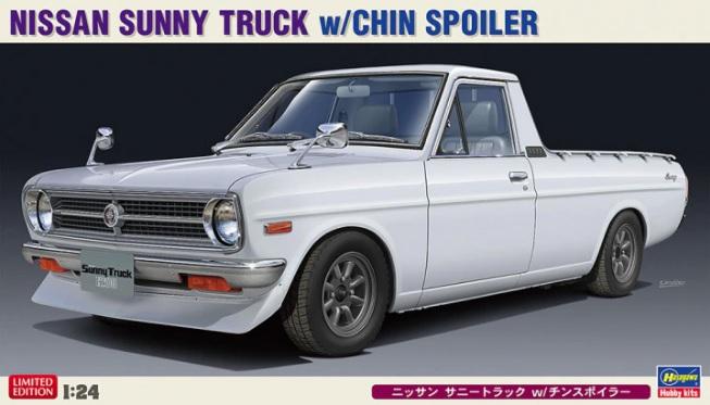 Nissan Sunny Truck w/Chin Spoiler 1/24