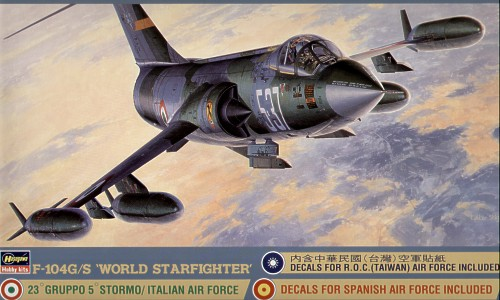 Lockheed F-104G / F-104S Starfighter 1/32