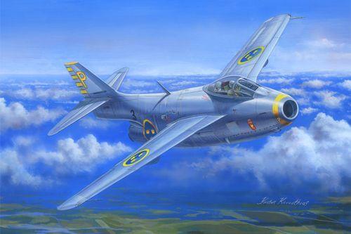 SAAB J-29B Tunnan 1/48
