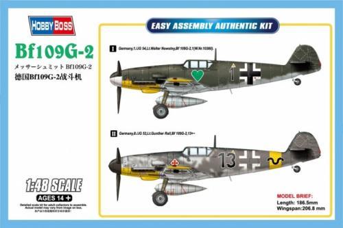 Messerschmitt Bf-109G-2 1/48