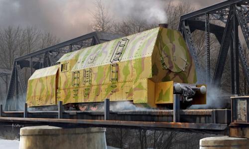 Panzerlok BR+B90757 Armoured Locomotive 1/72