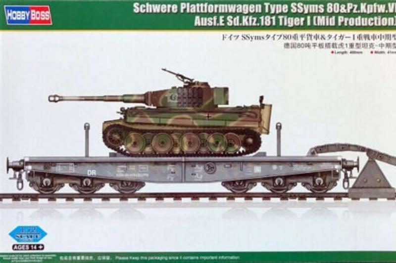 Schwere Plattformwagen Type SSyms 80 1/72
