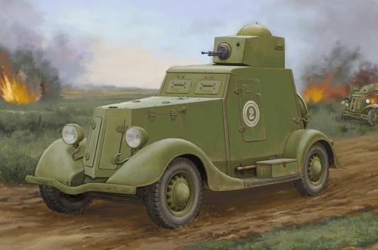 Soviet Ba-20 Armored Car Mod.1939 1/35