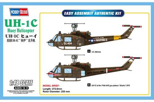 Bell UH-1C Huey Helicopter (Helikopter 3 i Flygvapnet) 1/48