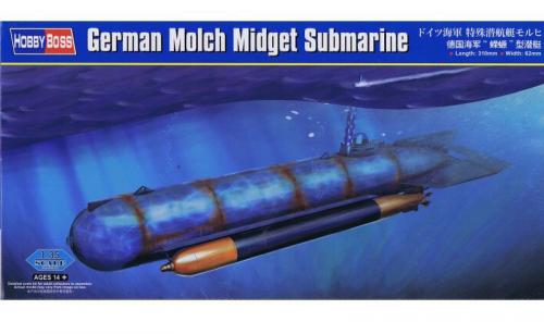 German Molch Midget Submarine 1/35