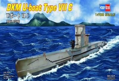 DKM U Boat Type VII C 1/700