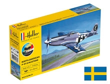 P-51 Mustang D COMPLETE w. Glue, Paint,Brush - incl. SE DECAL 1/72