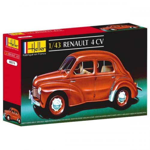 Renault 4 CV 1/43