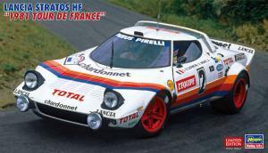 "Lancia Stratos HF ""1981 Tour de France"" 1/24"