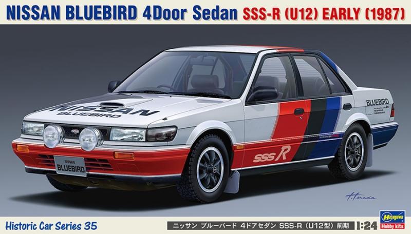 NISSAN BLUEBIRD 4Door Sedan SSS-R (U12) EARLY 1/24