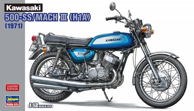 Kawasaki 500-SS/MACH III (H1A) 1/12