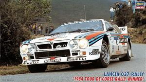 Lancia 037 1984 Tour De Corse Rally Winner Team: Markku Alén/Ilkka Kivimäki 1/24