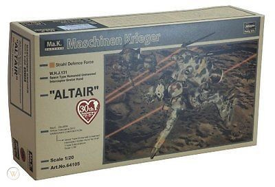 Altair W.H.J.131 Space Type Humanoid Unmanned Interceptor GroBer Hund 1/20