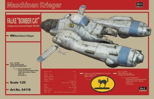 "Antigravity Armored Raider Pkf.85 FALKE ""BOMBER CAT"" 1/20"
