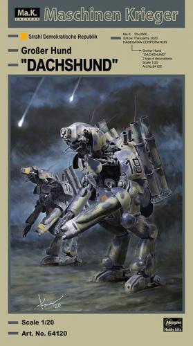 """Humanoid Unmanned Interceptor Großer Hund """"DACHSHUND"""" 1/20"""