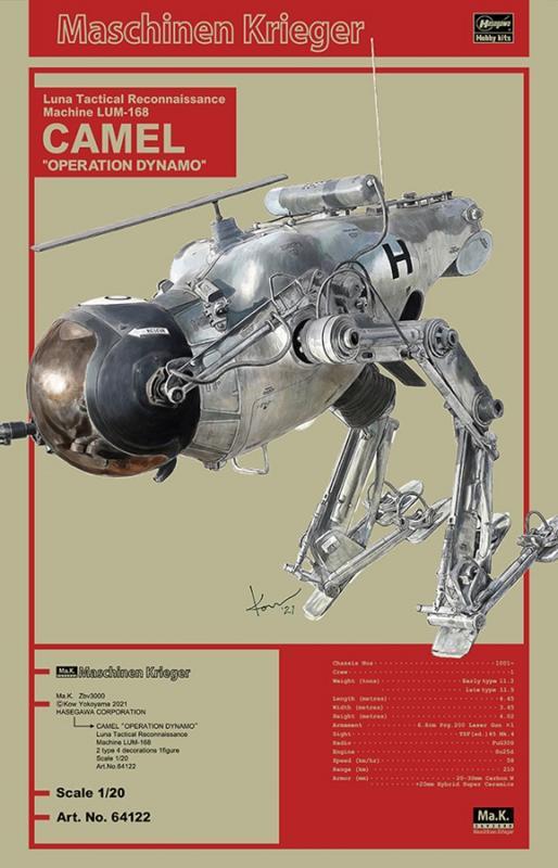 """Luna Tactical Reconnaissance Machine LUM-168 CAMEL """"OPERATION DYNAMO"""" 1/20"""