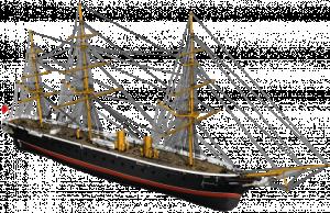 HMS Warrior 1/100